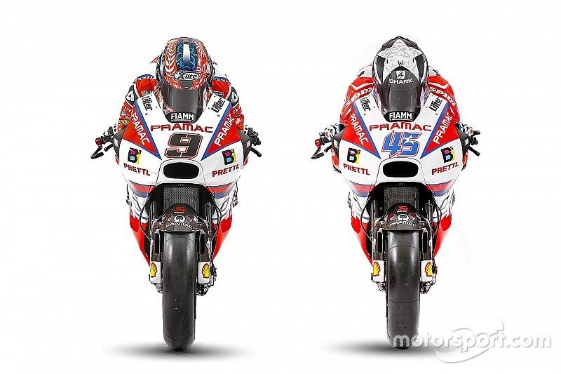 Pramac dévoile la livrée de ses Ducati pour 2017