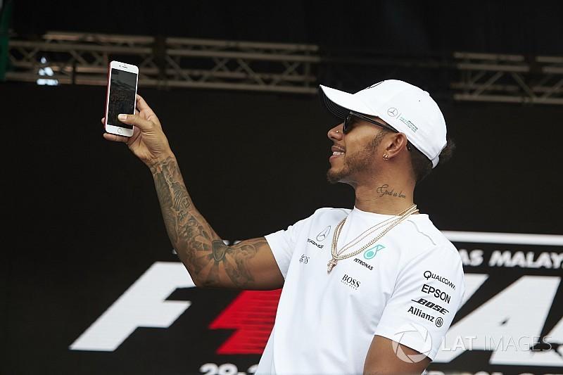 La F1 fait de belles promesses pour 2018 dans le domaine numérique