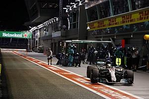 Formula 1 Son dakika Singapur'un en hızlı pit stopları yine Mercedes'ten geldi