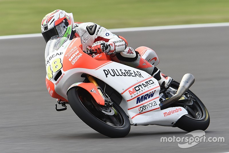 Aspar Mahindra's Dalla Porta aiming for first points in Austin