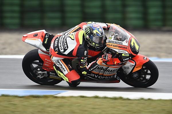 Moto2 Breaking news Baldassarri escapes serious injury in horror Assen crash