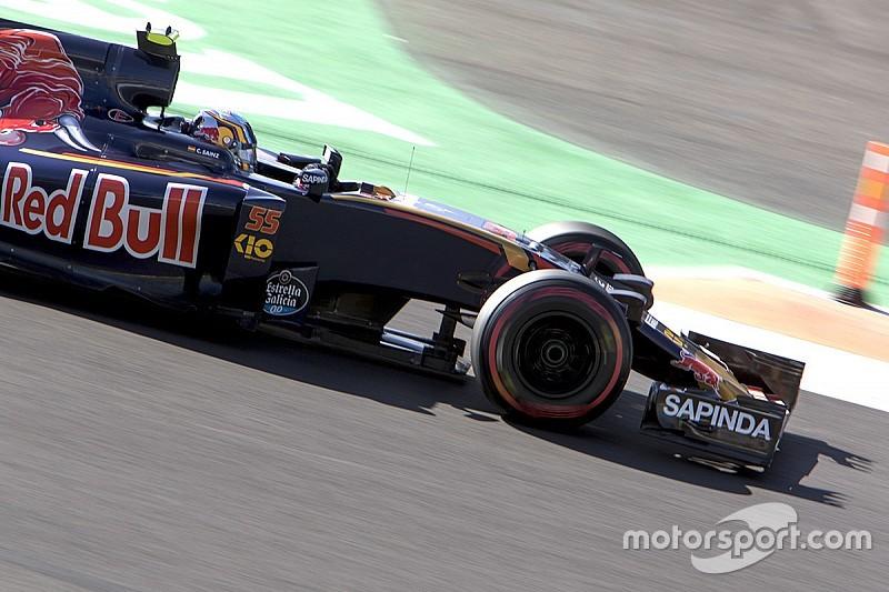 Sainz piensa que adelantar a un Toro Rosso es fácil