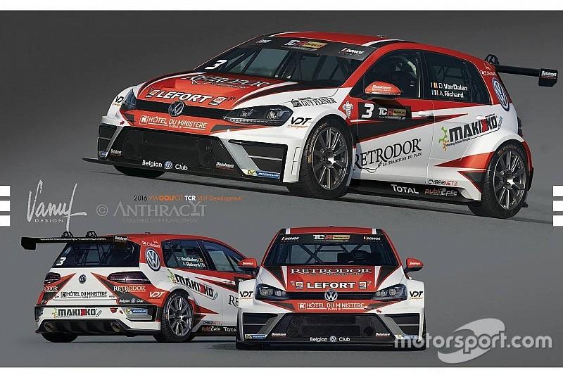 Benelux, la Delahaye Racing ha scelto la livrea per la sua VW Golf
