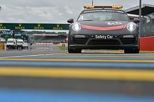 24 heures du Mans Actualités Les super véhicules d'intervention Porsche aux 24H du Mans
