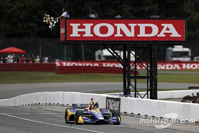 Rossi a décidé de sa stratégie en début de course