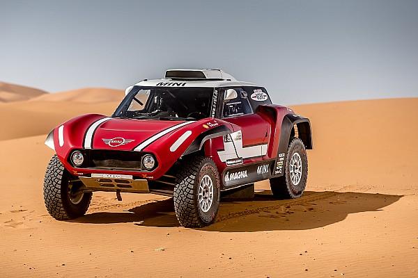 Mini reveals new buggy for 2018 Dakar Rally