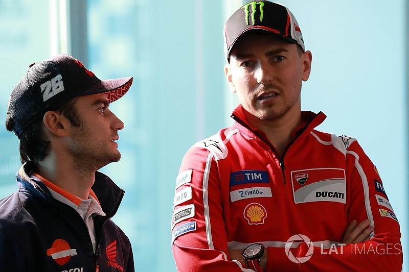 Lorenzo in talks with Honda to replace Pedrosa