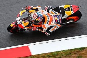 MotoGP Отчет о квалификации Педроса выиграл квалификацию в Малайзии, Маркес седьмой