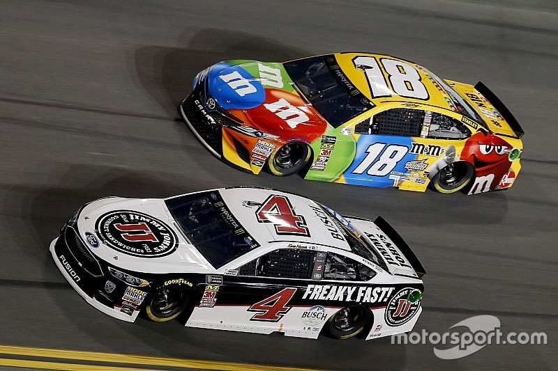 The four drivers who will battle for the Cup title at Homestead