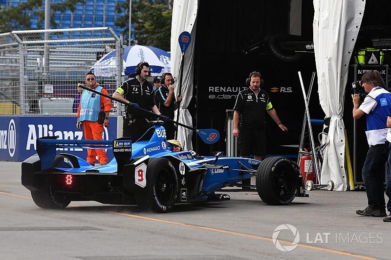 Fórmula E recua e recoloca tempo mínimo nos pitstops