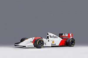 Formel 1 Fotostrecke Fotostrecke: Auktion von Sennas McLaren MP4/8A