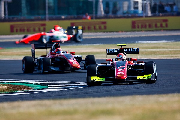 GP3 Qualifying report Silverstone GP3: Hubert takes maiden pole