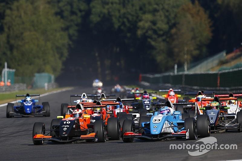 Neuf équipes sélectionnées pour la Formule Renault Eurocup en 2018