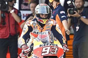 MotoGP Reactions Marquez lega bisa menangi Aragon yang sulit