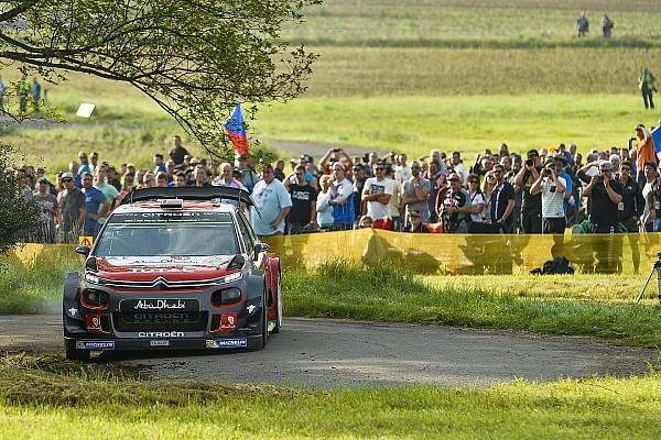 WRC-Rallye Deutschland: Mikkelsen am Freitagmittag vorne