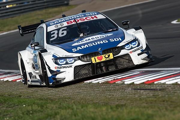 DTM Breaking news DTM race winner Martin splits with BMW