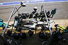 Hamilton no bebió durante la carrera para que el coche pesara menos