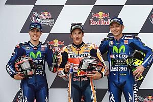 MotoGP Resultaten De startopstelling voor de Grand Prix van Amerika
