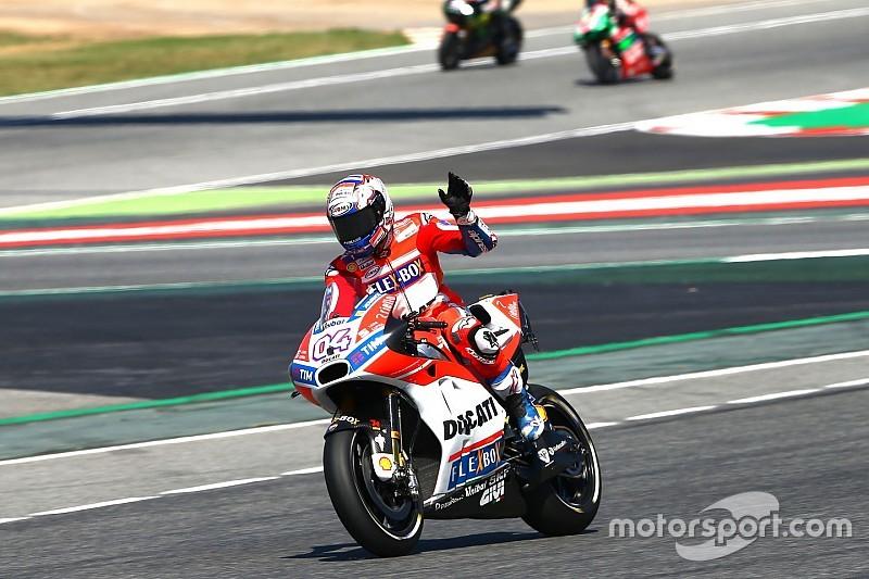 Course - Dovizioso double la mise devant les pilotes Honda !