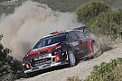 WRC The Citroen C3 WRCs tackle the 'Finnish Grand Prix'