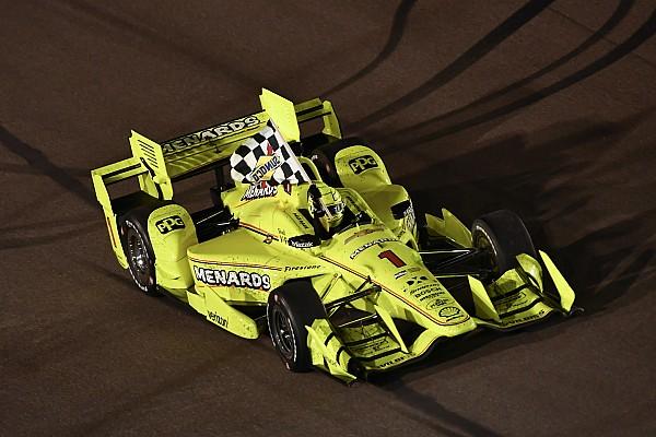 IndyCar Phoenix: Pagenaud pakt op gelukkige wijze eerste oval-zege