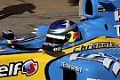 Галерея: Сайнс-старший за кермом Renault Ф1