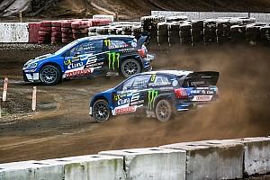 Ралли-Кросс Отчет о гонке Кристофферссон выиграл третью подряд гонку в WorldRX