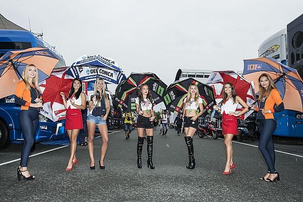 MotoGP Promotor MotoGP Prancis pertahankan grid girl