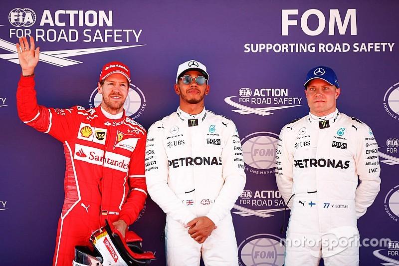 Grid start balapan GP Spanyol 2017