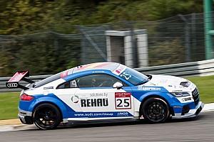 Turismo Noticias de última hora Doble victoria de Azcona en Nurburgring para situarse líder de la Audi Sport TT Cup