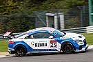 Turismo Doble victoria de Azcona en Nurburgring para situarse líder de la Audi Sport TT Cup