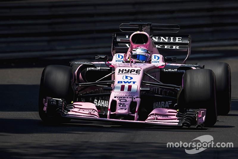 """En Force India defienden a Pérez: """"Kvyat dejó el espacio y luego se cerró"""""""
