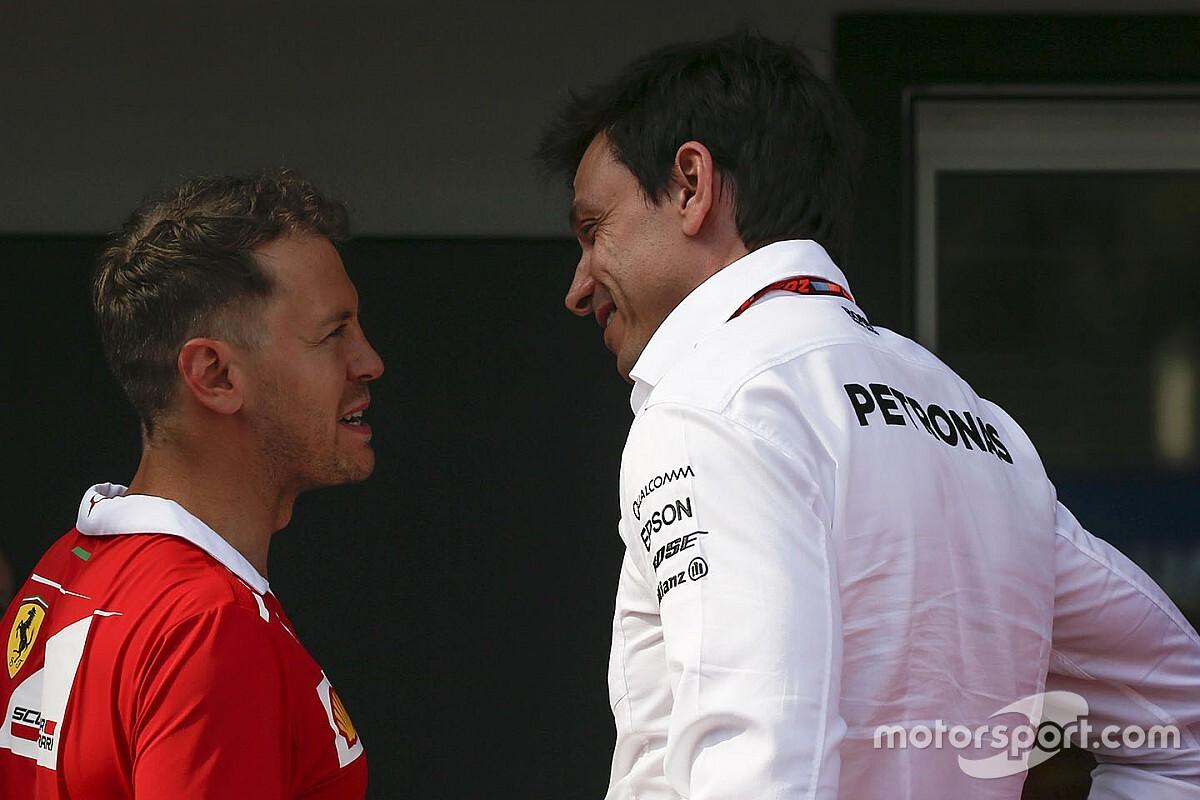 Wolff: Vettel'e yapılan eleştiriler adil değil