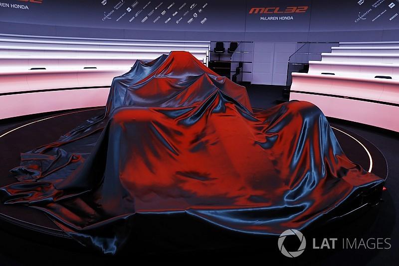 McLaren, Toro Rosso set launch dates for 2018 F1 cars