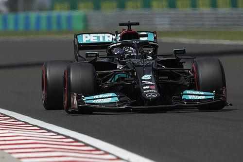EL3 - Meilleur temps pour Hamilton, Schumacher dans le mur