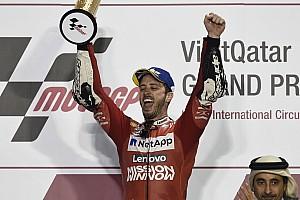 Na MotoGP, vencedor da primeira corrida foi campeão 47% das vezes