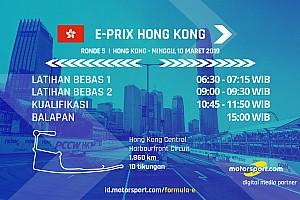 Jadwal Formula E E-Prix Hong Kong