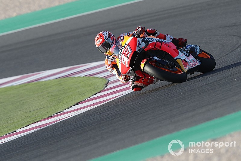 Qatar MotoGP: Marquez tops FP3, big crash for Lorenzo