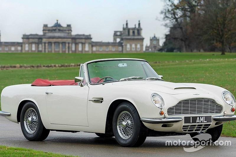 Класичний DB6 від Aston Martin тепер офіційно з електромотором