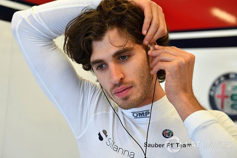 F1 hopeful Giovinazzi wants to prove he's no
