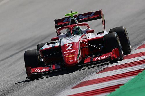 Вести выиграл дождевую гонку Формулы 3 в Австрии