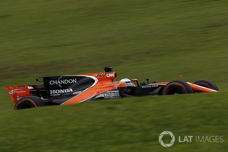 Alonso celebra melhor posição no grid na temporada