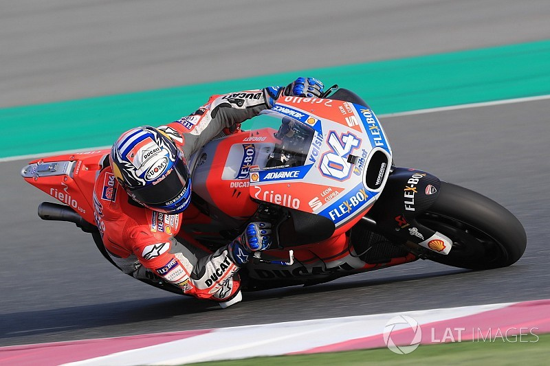 "Dovizioso ""glad"" to be considered Qatar favourite"