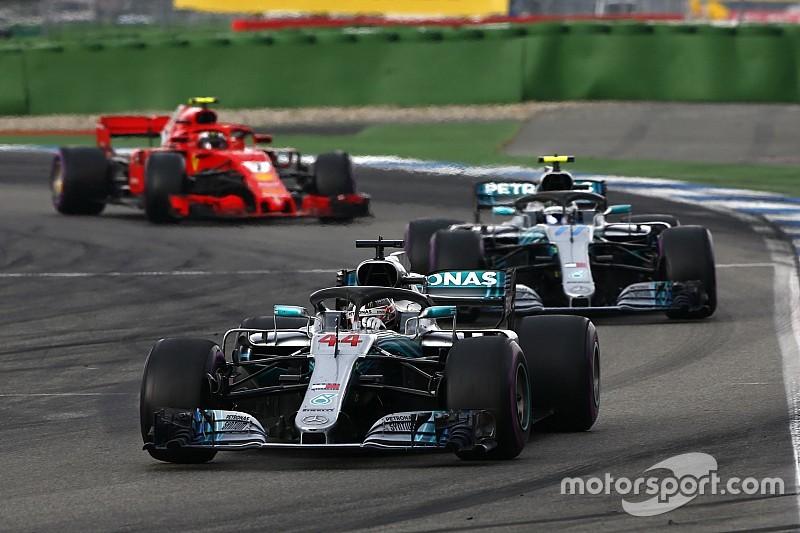Mercedes explica ordem de equipe a Bottas no fim