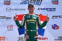 Van Kalmthout pakt kampioenschap en rijdt in 2019 Indy Lights