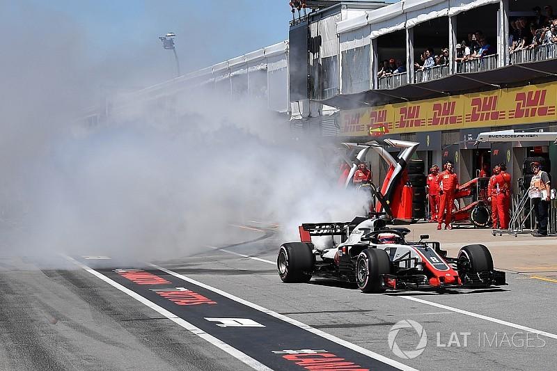 """La """"malchance"""" de Haas étonne même ses rivaux"""