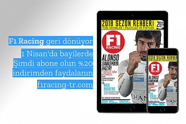 GENEL Son dakika F1 Racing Türkiye için son fırsat