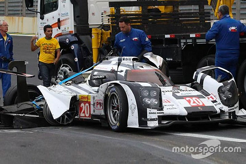 Porsche en LMP1 - Webber miraculé à Interlagos