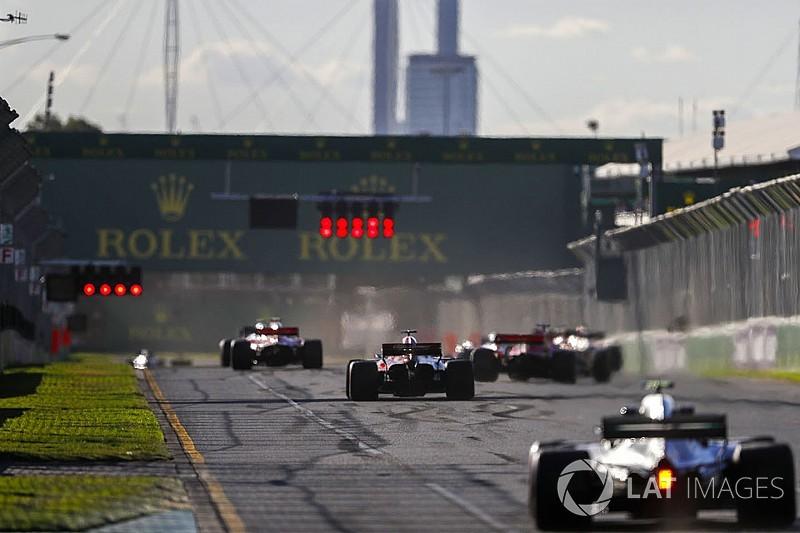 Гран При Австралии: стартовая решетка в картинках