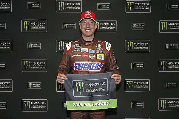 NASCAR Cup Qualifying report Kyle Busch edges Ryan Newman for Atlanta Cup pole